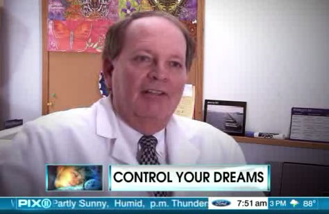 Dr. Alpert Discusses Lucid Dreaming on WPIX TV